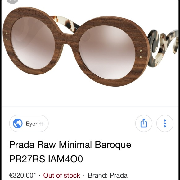 932e2de5ff15 Prada Accessories | Raw Minimal Baroque | Poshmark